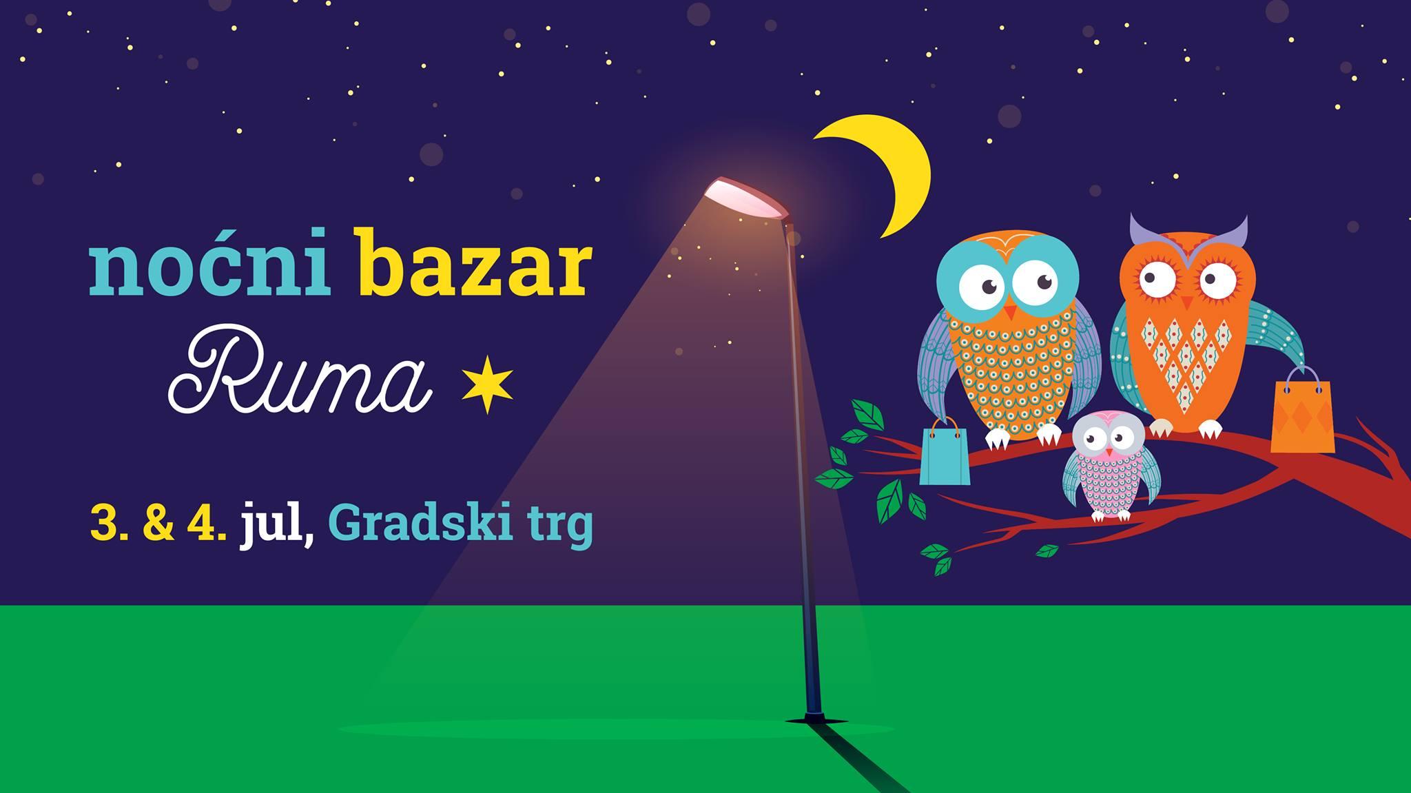 Ноћни базар Рума, 3. и 4. јул